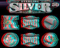 Автомат Sterling Silver 3D (Чистое Серебро 3D)